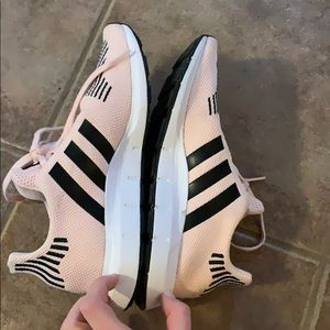 adidas Shoes - Pink and Black Adidas